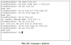 5.5. Команды для работы с файлами