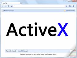 Что делать если версия activex не установлена?