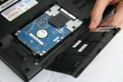 Как установить новый жесткий диск для ноутбука?